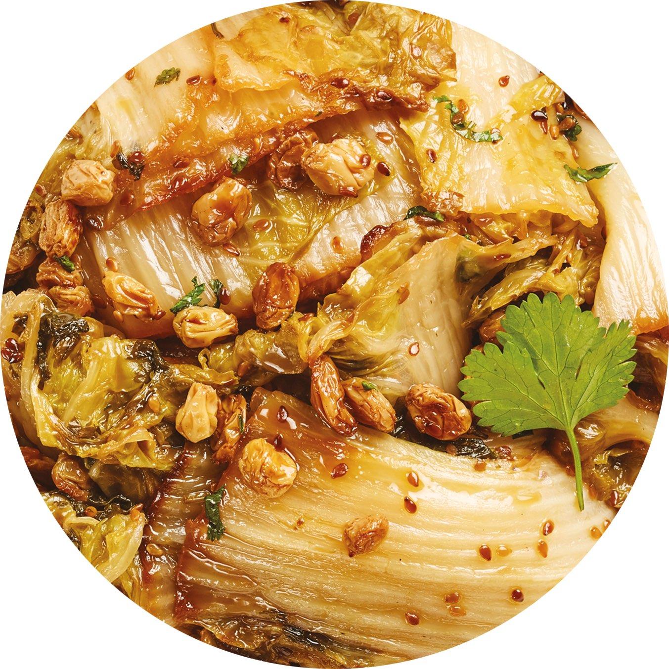 Image de la recette Légumes Al Dente à la menthe fraîche, Boulghour et Quinoa