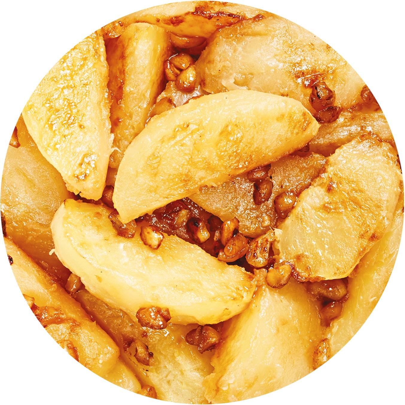 Image de la recette pommes cuites aux noisettes sans sucre ajouté