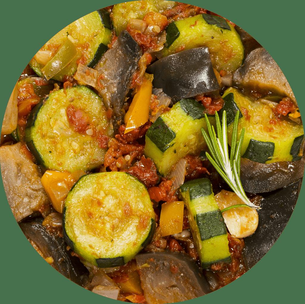 Image de la recette Légumes Al dente à la menthe frâiche, Boulghour et Quinoa